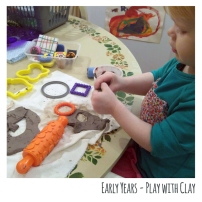 Early Years Play with Clay Rosie 220217