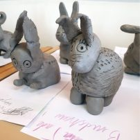 Year 2 clay animals