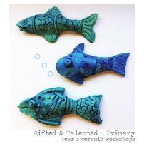Year 5 Ceramic Fish