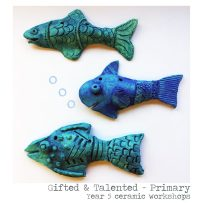 Ceramic fish Year 5