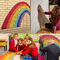 Farmilo Primary School - whole school mosaic