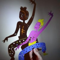 Shadow Puppets for Notts Mela 2018