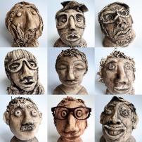 Mud Heads - https://busandbird.co.uk/museums-audience-development/