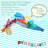Going Green Fun Palaces flyer
