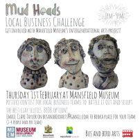 Mud Heads flyer