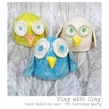 Play with Clay party