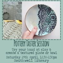 Pottery Taster Flyer Instagram 030417