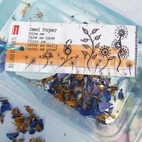 seed paper in situ at Portland College